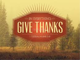 in everything give thanks sermon thanksgiving powerpoint fall