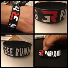 silicone bracelet wristband images Team 3run parkour silicone bracelet rubber wristbands hip hop jpg