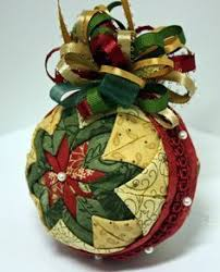 2988 best no sew ornaments images on quilted ornaments