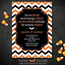 halloween first birthday printable invitation 5 5x4 10 00 by