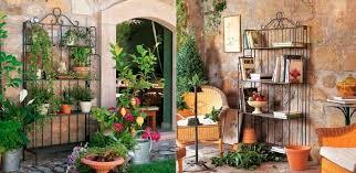 scaffale da esterno scaffale moderno in metallo da giardino demetra unopi