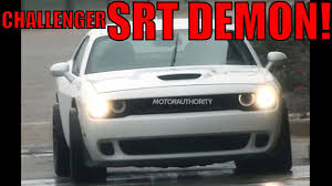 2018 dodge challenger srt demon a hellcat on steroids news