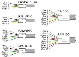 rj11 to rj45 wiring diagram rj11 wiring diagrams instruction