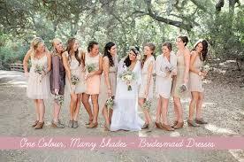 how to mix u0026 match bridesmaids u0027 dresses onefabday com