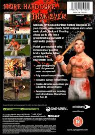 Backyard Wrestling Video Game by Backyard Wrestling Don U0027t Try This At Home Box Shot For Xbox
