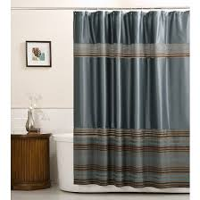 Fabric Stall Shower Curtain Mark Stripe Fabric Shower Curtain Blue Maytex Target