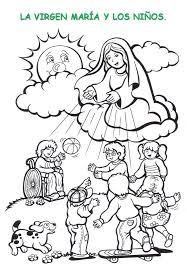 imagenes de virgen maria infantiles recursos catequéticos para el mes de maría catequesis de la