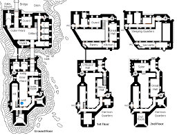 Medieval Floor Plans The Land Of Nod Looking For Castle Floor Plans