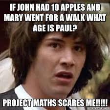 Maths Memes - project maths