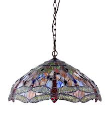 tiffany glass pendant lights chloe ch2825db18 dh3 tiffany style dragonfly 3 light ceiling