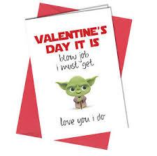 yoda valentines card 436 yoda wars bl w greeting card boy girl