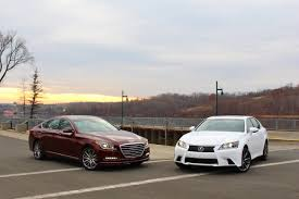 compare lexus vs bmw new u0026 old hyundai genesis vs lexus gs350 u2013 limited slip blog