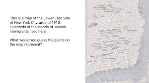 A New Map Of Jewish by 1 Map Of The Lower East Side Of New York Ca 1910 Adrian