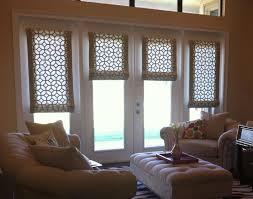 roman shade for patio door window shades pinterest uncategorized