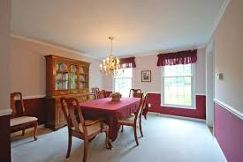 Chair Rail Color Combinations Formal Dining Room Color Schemes Interior Design