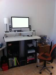 ikea stand desk ikea standing desk hack inspiration minimalist would you use a