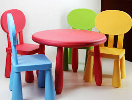 home design pretty plastic childs table kids desks and chairs