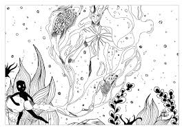 verseau par valentin water worlds coloring pages for adults