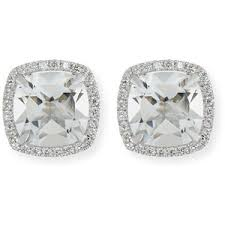white topaz earrings white topaz earrings shop for white topaz earrings on polyvore
