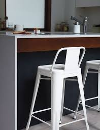 Tolix Bar Table Tolix Marais Barstool With Low Back Design Within Reach