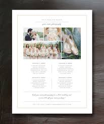 wedding photography pricing photography price list template pricing guide branding