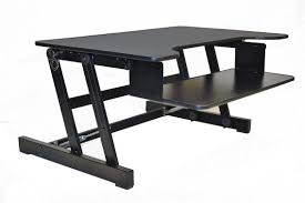 Adjustable Standing Sitting Desk Rocelco Adr Adjustable Sit To Standing Desk Riser