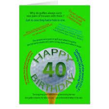golf birthday cards u0026 invitations zazzle co uk