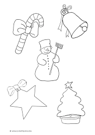 small christmas coloring pages