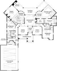 Floor Plan La by Lady La Salette Ranch Home Plans Courtyard House Plans