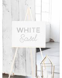 Easel Floor L Amazing Deal On White Wedding Easel White Wood Easel Easel For