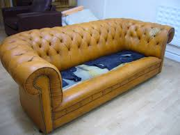 Chesterfield Sofa Cushions Replacement Chesterfield Cushions The Leather Surgeons