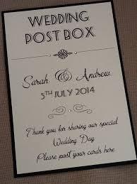 Wedding Wishing Box Handmade Personalised Vintage Style Portrait Wedding Post Box
