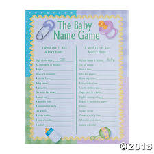 baby showergames baby shower trading company