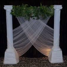 wedding backdrop ideas with columns ancient themed party decorations search