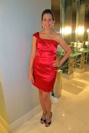 what goes with red dress and black shoes style guru fashion
