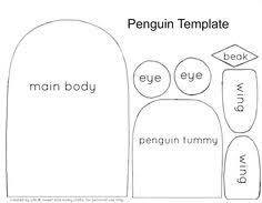 free penguin template printable penguin craft writing sheet or