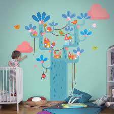 wandtattoo babyzimmer wald no ek153 spielbaum