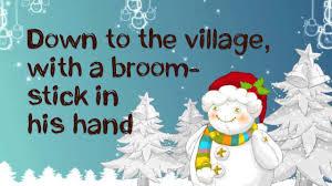 frosty the snowman lyrics hd youtube