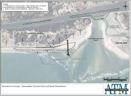 Intracoastal Waterway Map Coastline Shoreline Stabilization Terminal Groins In Ocean Isle