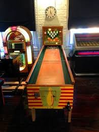 Antique Shuffleboard Table For Sale 1935 Exhibit Supply Co Batter Up Pinball The 1930 U0027s