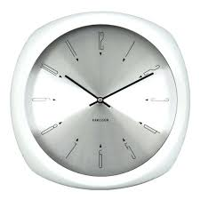 Modern Wall Clock Wall Clock White Modern Wall Clock Modern Black And White Wall