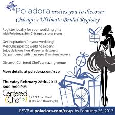 top stores to register for wedding upcoming chicago bridal events committed poladora wedding