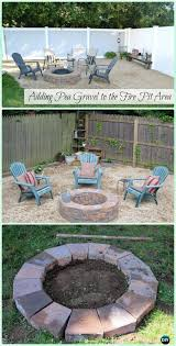 How To Make A Pea Gravel Patio Diy Garden Firepit Patio Projects Free Plans