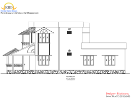 1275 sqft home plan u0026 elevation in 4 cent home appliance