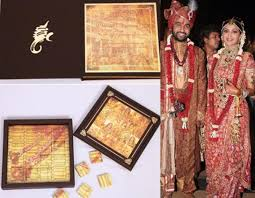 Marriage Card 10 Most Interesting Wedding Invites Of Bollywood Celebrity Couples