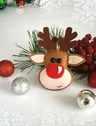 handprint reindeer ornament craft for buggy and