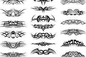 tribal tattoo with names