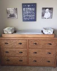 dresser with removable changing table top built a changing pad topper to the 3 drawer malm dresser that