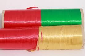 gift wrap ribbon lot vintage ribbon retro green gold gift wrap ribbons for