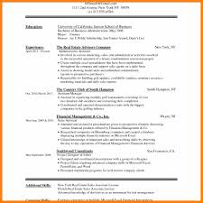 resume template word doc 11 cv format in word doc prome so banko